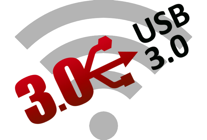 USB 3.0の高周波ノイズが2.4GHz帯 (Wi-Fi, Bluetooth)に干渉しているらしい