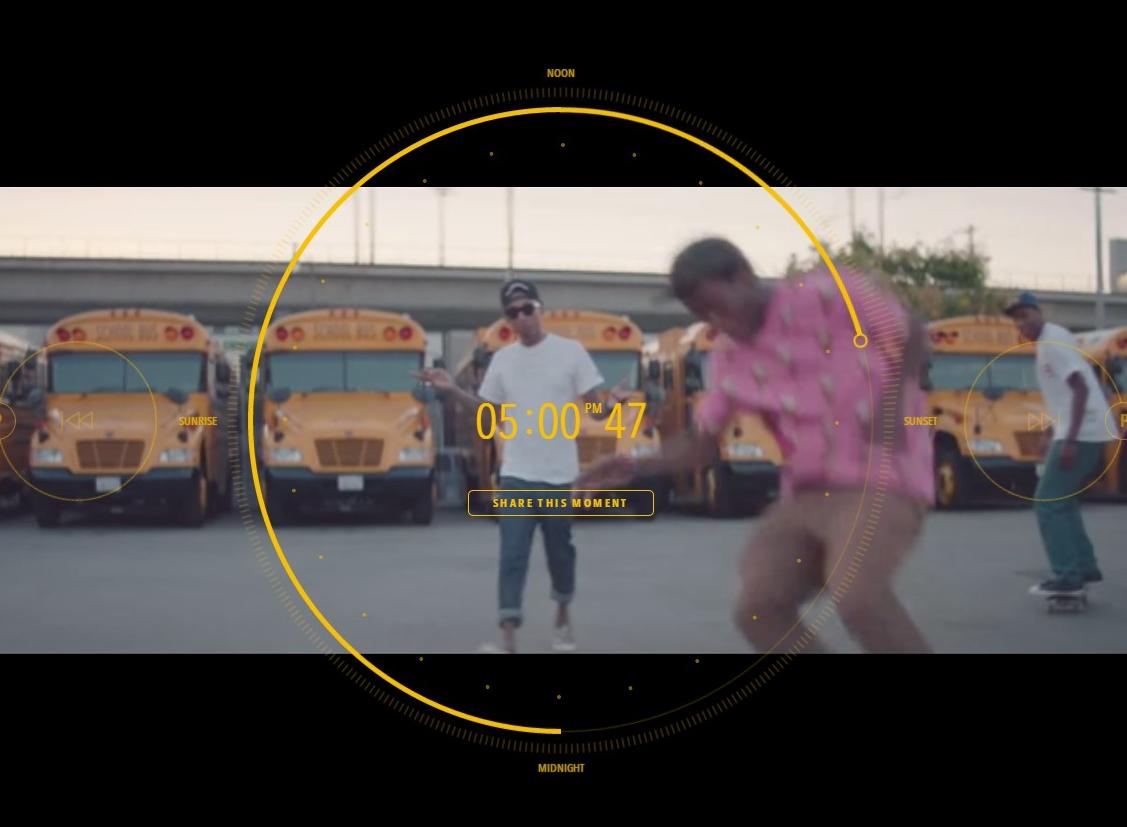 【世界初?】総計24時間のインタラクティブなMusic Video