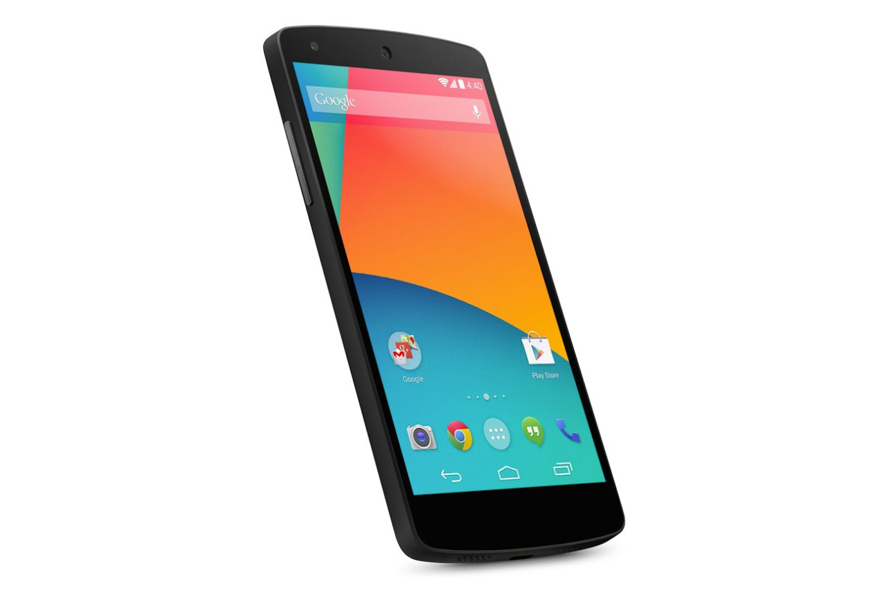 初のAndroid端末、Nexus 5をゲット