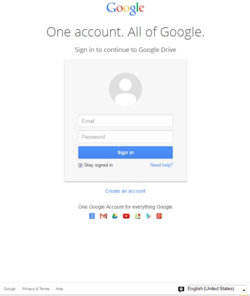 【注意】Googleのログインページを模した、巧妙なフィッシングページが発見される