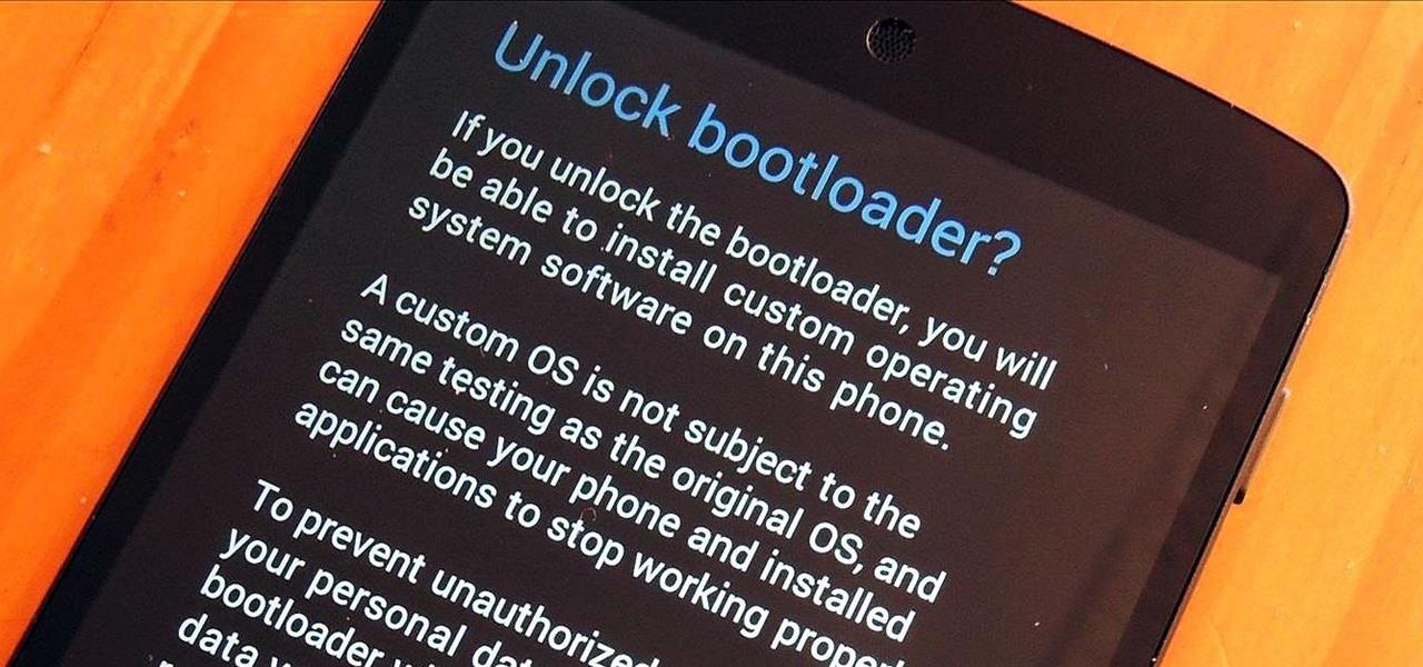 Nexus 5のBootloaderアンロック手順