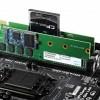 """Apacer、M.2/CFastスロット搭載のキワモノ""""2-in-1""""DDR3メモリ『Combo SDIMM』を発表"""
