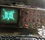 初代「Quake」をオシロスコープ上で表示させた魔改造Mod
